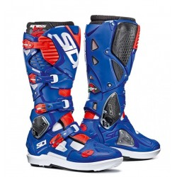 SIDI CROSSFIRE 3 SRS BOOTS BLUE/WHITE/RED
