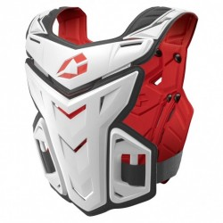 BUZER EVS F1 CHEST PROTECTOR WHITE
