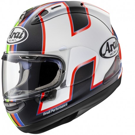 ARAI RX7V DIAMOND WHITE HELMET