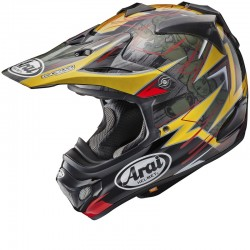 ARAI MX-V TRICKLE RED HELMET