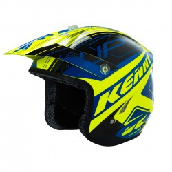 KENNY TRAIL UP HELMET NEON YELLOW