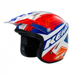 KENNY TRAIL UP HELMET ORANGE/BLUE