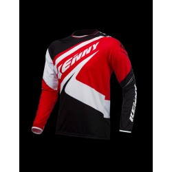 KENNY JERSEY TRIAL-UP BLACK/RED
