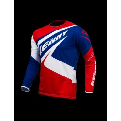 KENNY JERSEY TRIAL-UP BLUE/WHITE/RED