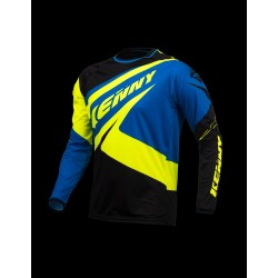 KENNY JERSEY TRIAL-UP BLUE/YELLOW