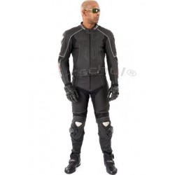 TSCHUL 727 BLACK LEATHER SUIT