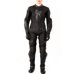 TSCHUL 187 BLACK LEATHER SUIT