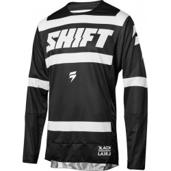 BLUZA SHIFT 3LACK STRIKE BLACK/WHITE