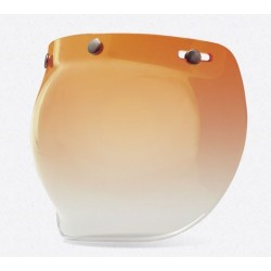 BELL CUSTOM 500 BUBBLE AMBER GRADIENT SHIELD