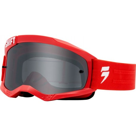 SHIFT WHIT3 LABEL GOGGLE RED