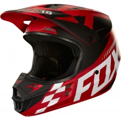 KASK FOX JUNIOR V1 SAYAK RED