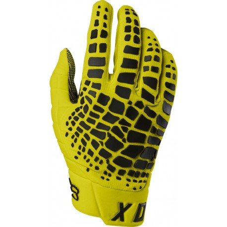 FOX 360 GRAV GLOVES YELLOW
