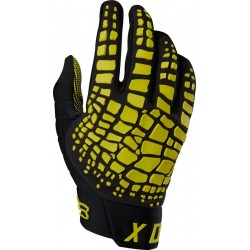 FOX 360 GRAV GLOVES DARK YELLOW