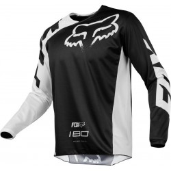 BLUZA FOX 180 RACE BLACK MX18