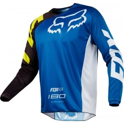 BLUZA FOX 180 RACE BLUE MX18
