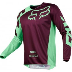 BLUZA FOX 180 RACE GREEN MX18
