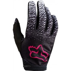 FOX LADY GLOVES DIRTPAW BLACK/PINK