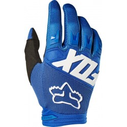RĘKAWICE FOX JUNIOR DIRTPAW RACE BLUE