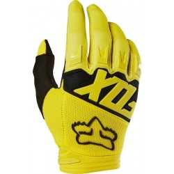 RĘKAWICE FOX JUNIOR DIRTPAW RACE YELLOW