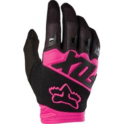 RĘKAWICE FOX JUNIOR DIRTPAW RACE BLACK/PINK