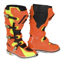 ACERBIS X-MOVE 2.0 FLUO ORANGE BOOTS