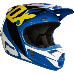 FOX HELMET V1 RACE BLUE