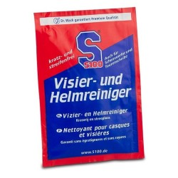 VISIER-UND HELMREINIGER S100 VISOR& HELMET CLEANER WIPES