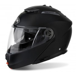 AIROH PHANTOM S BLACK MATT FLIP UP HELMET