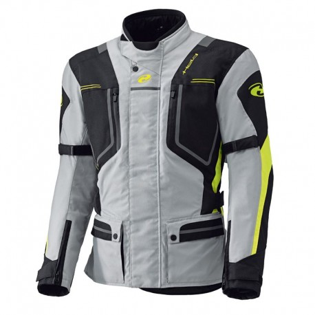 HELD ZORRO GREY FLUO YELLOW TEXTILE JACKET