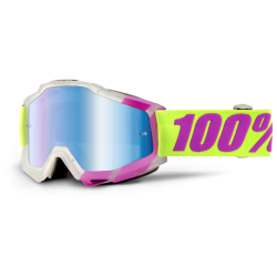 100% ACCURI TOOTALOO GOGGLES - MIRRORED LENS