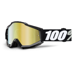 100% ACCURI TORNADO GOGGLES - MIRRORED LENS