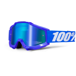 100% ACCURI REFLEX BLUE GOGGLES - MIRRORED LENS