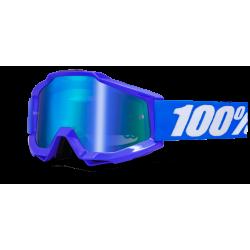 GOGLE 100% ACCURI REFLEX BLUE NIEBIESKIE SZYBKA LUSTRO
