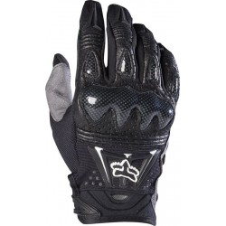 FOX BOMBER BLACK GLOVES
