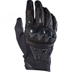 FOX BOMBER GLOVES BLACK/BLACK
