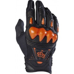 FOX BOMBER GLOVES BLACK/ORANGE