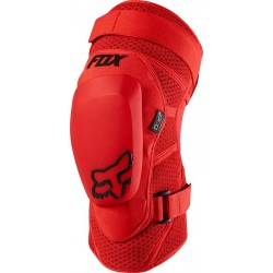 FOX LAUNCH PRO D3O KNEE GUARD RED