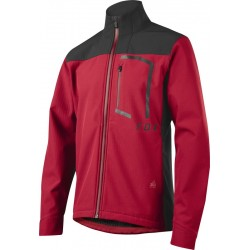 FOX ATTACK FIRE SOFTSHELL JACKET DARK RED
