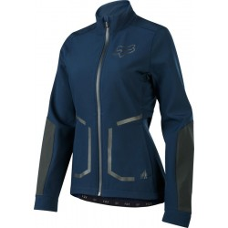 FOX WOMENS ATTACK FIRE SOFTSHELL NAVY