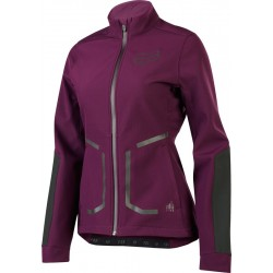 FOX WOMENS ATTACK FIRE SOFTSHELL PLUM