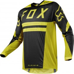 BLUZA FOX FLEXAIR PREEST DARK YELLOW