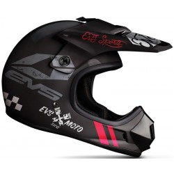 KASK EVS JUNIOR T3 FURY MATTE BLACK