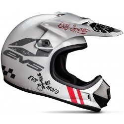 KASK EVS JUNIOR T3 FURY WHITE MATTE