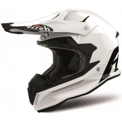 TERMINATOR OPEN VISION HELMET COLOR WHITE GLOSS