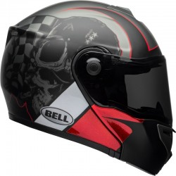 BELL SRT MODULAR LUCK CHARCOAL WHITE RED HELMET