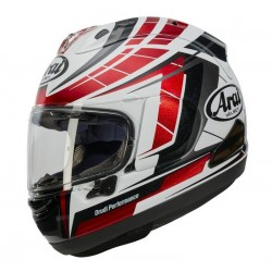 ARAI RX7V PLANET RED HELMET