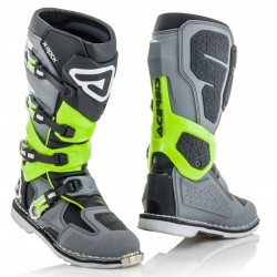 ACERBIS X-ROCK BOOTS GREY/YELLOW