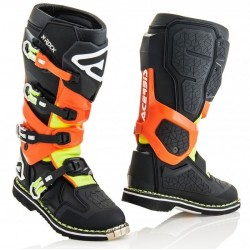 ACERBIS X-ROCK BOOTS BLACK/ORANGE