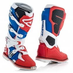 ACERBIS X-ROCK BOOTS BLUE/RED