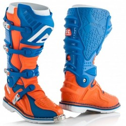 ACERBIS X-MOVE 2.0 ORANGE/BLUE BOOTS